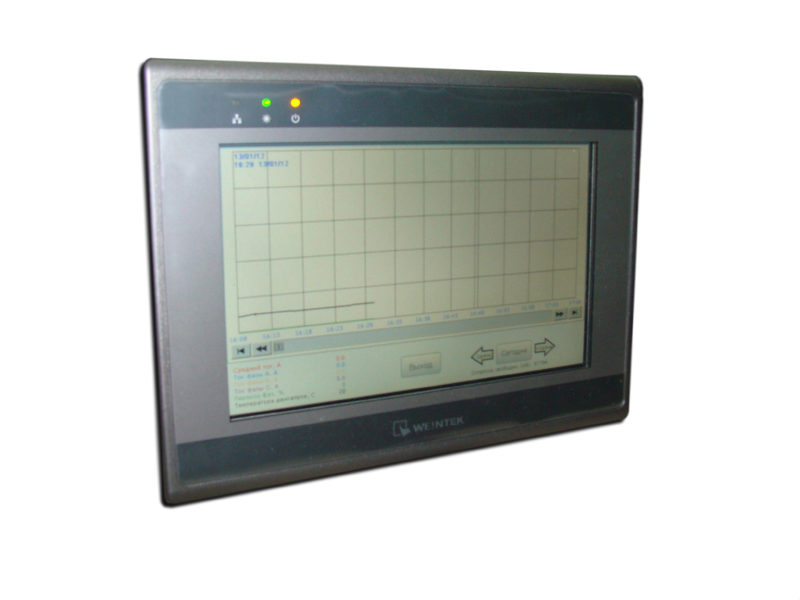 Система мониторинга работы электродвигателей