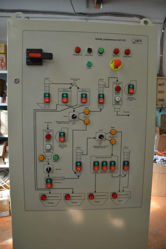 АСУ ТП- автоматизация линий сушки зерна